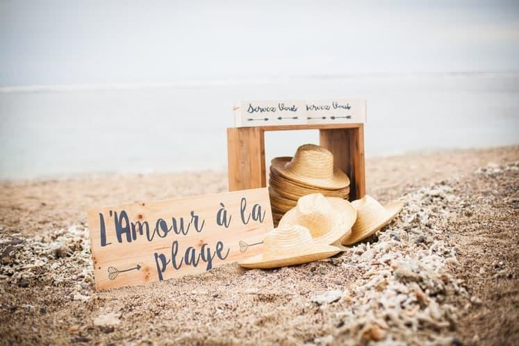 Photos de mariage sur la plage Réunion 974