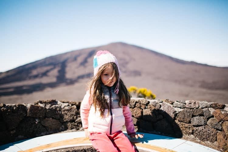 Photo au Volcan
